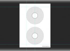 Download – Kostenlose Photoshop Vorlage für AVERY Zweckform CD & DVD Label