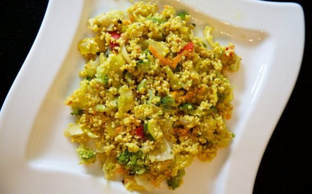 Rezept - Couscous Salat mit Gemüse