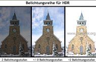 Wie entsteht ein HDR Bild?