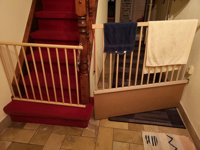 Gitter Treppe
