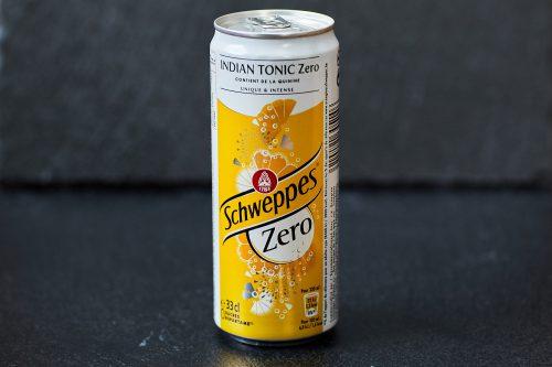 "Tonic Water ""Schweppes Zero"""