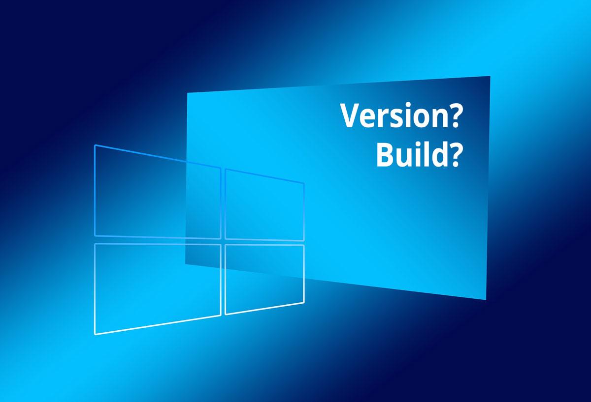 Anleitung - Windows 10 Version und Build anzeigen