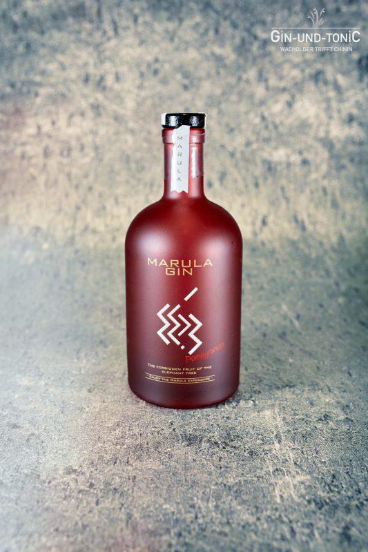 Marula gin Granatapfel