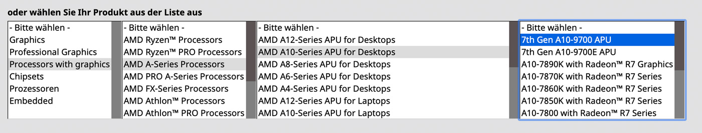 AMD Treiber Download