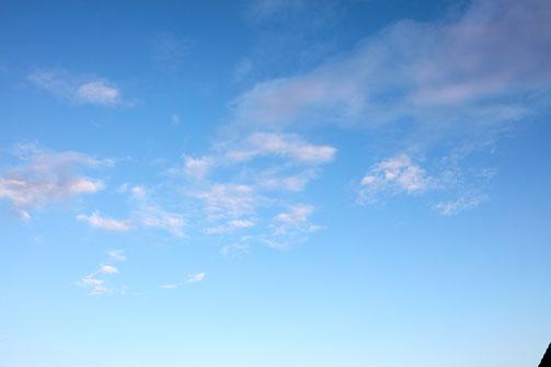 Blue Sky Texture 1