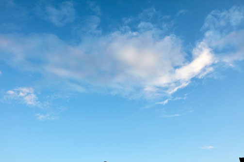 Blue Sky Texture 2