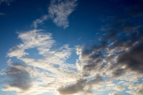 Blue Sky Texture 4