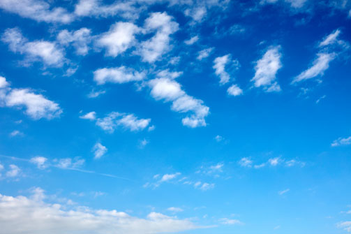 Blue Sky Texture 6