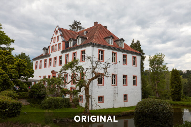 Schloss Georghausen Original