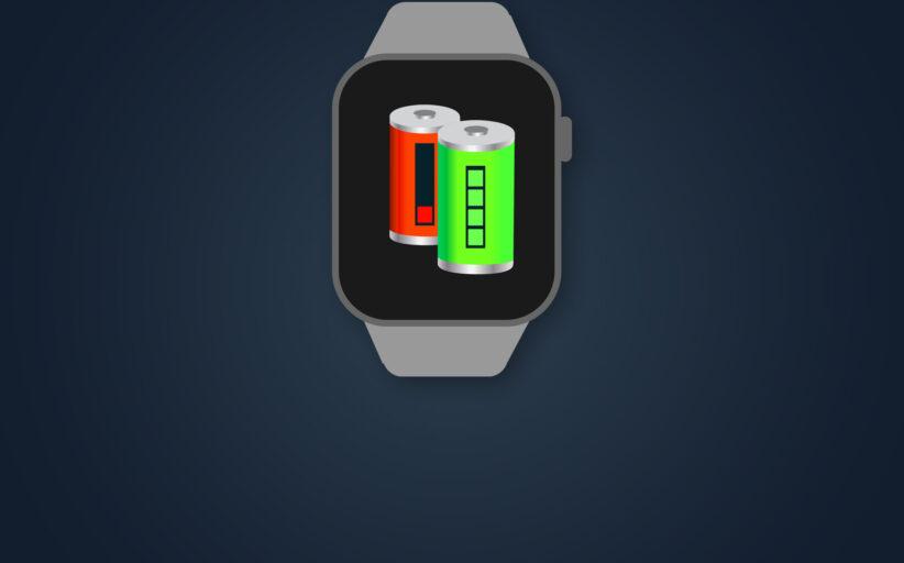 Anleitung - Apple Watch Akku unter WatchOS 7 sehr schnell leer