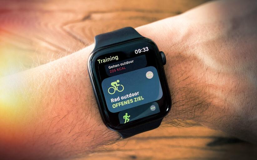 Apple Watch / Health und Komoot