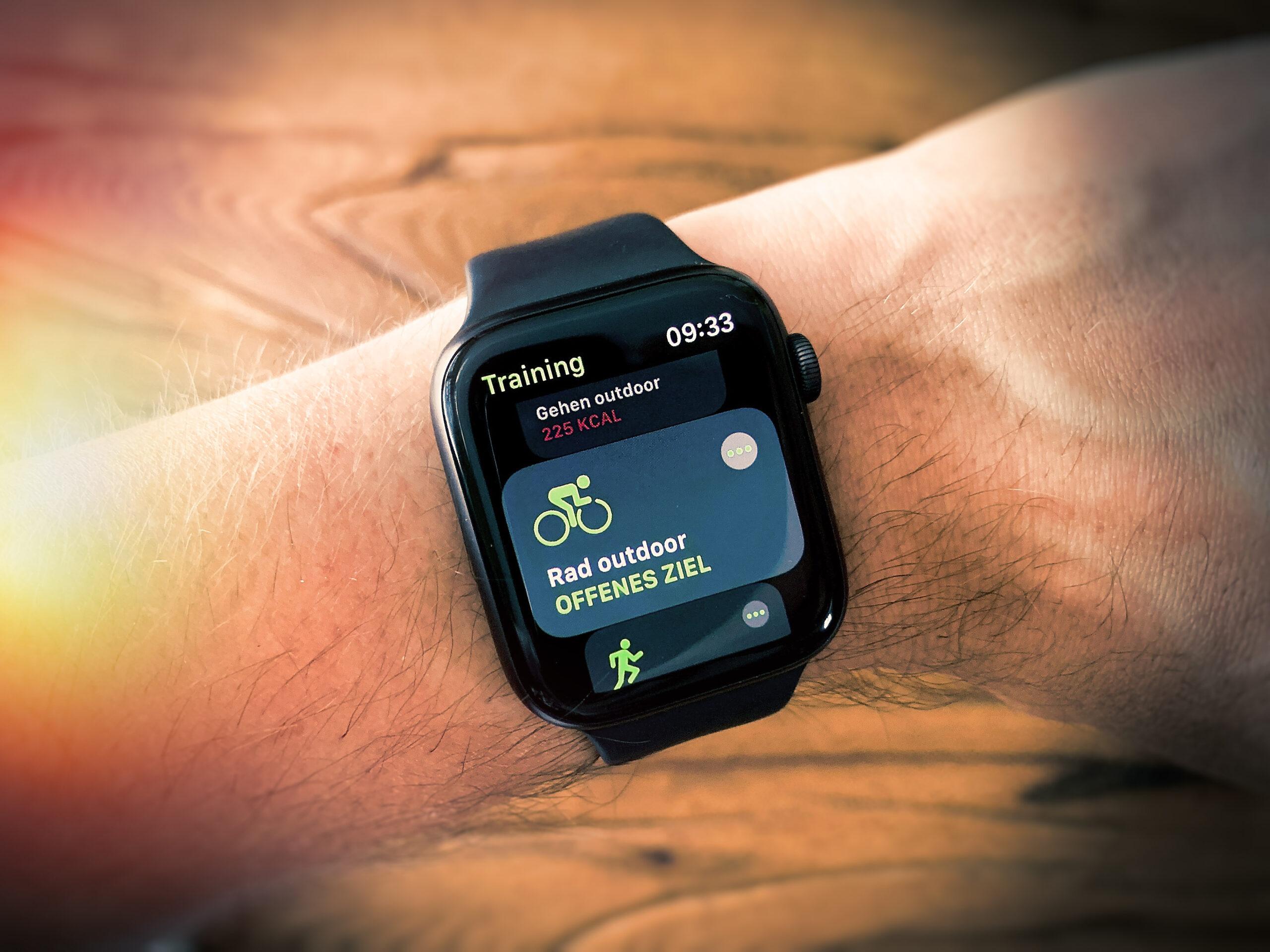 Apple Watch Training Rad